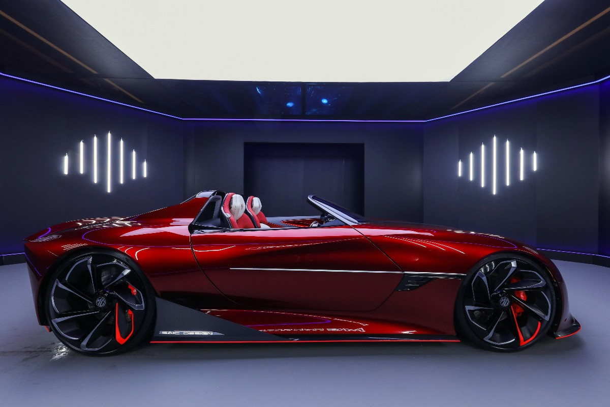 2021 MG Cyberster Concept 2