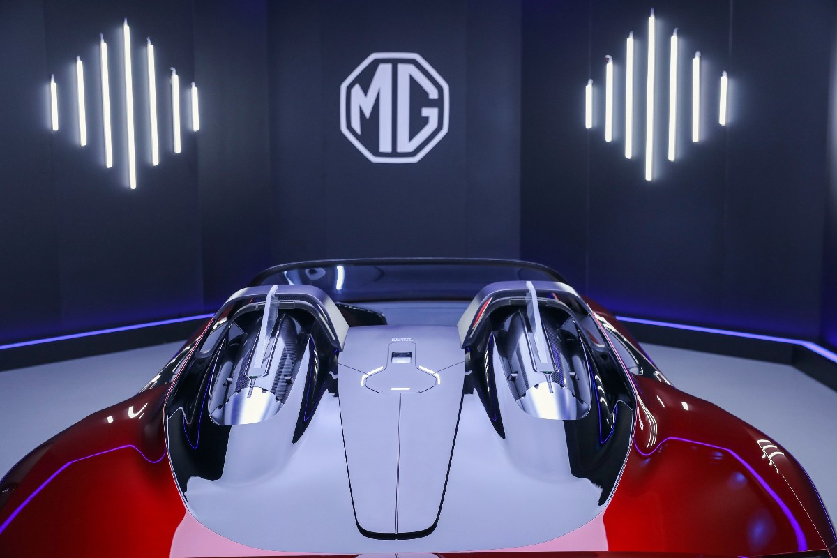 2021 MG Cyberster Concept 3