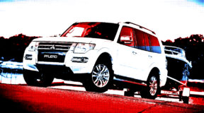 Mitsubishi Pajero: Last drinks ladies and gentlemen