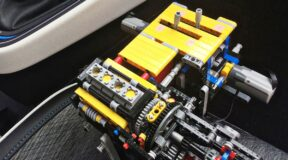 From Lego model to working engine