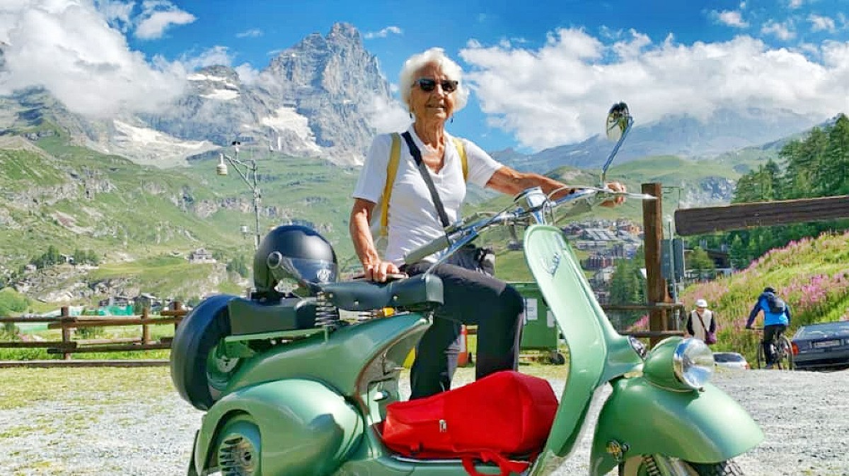 Scoot on in for Vespa's 75th bash