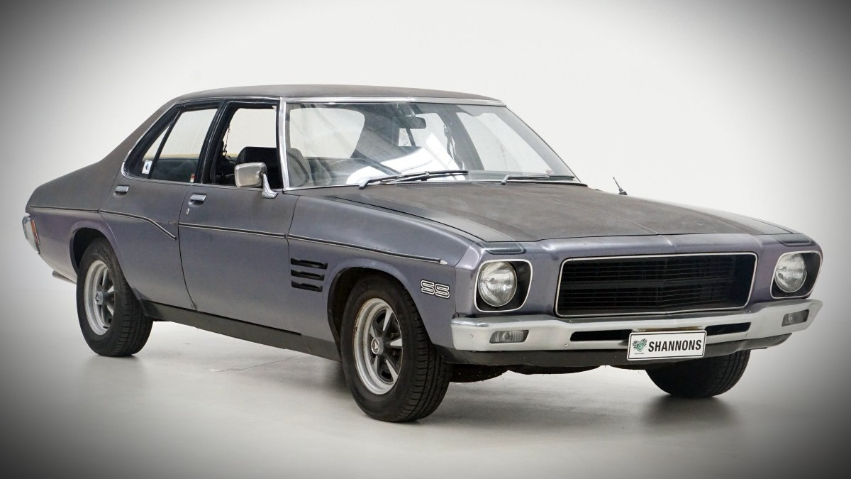 1972 HQ SS Holden