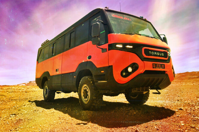 Meet the world's toughest off-road bus