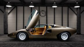 Countach a sight for sore eyes
