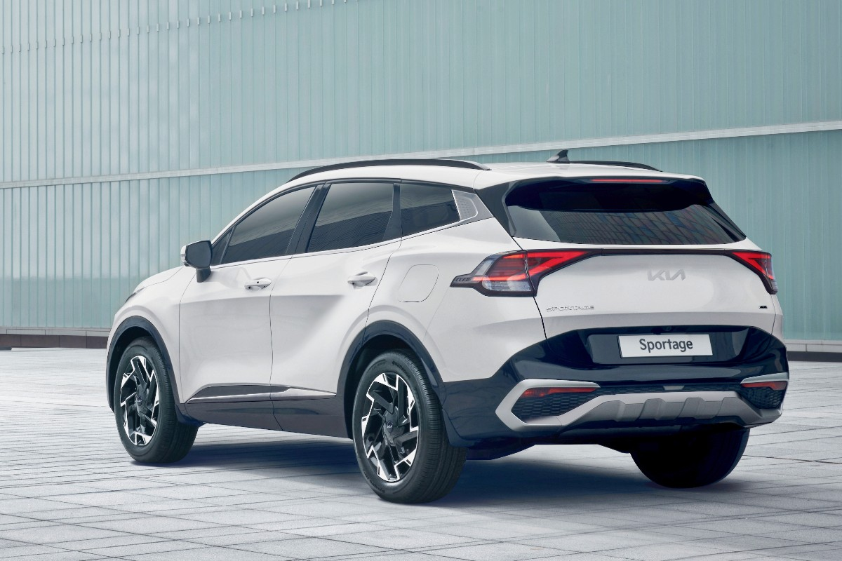 Grown-up Sportage joins the family