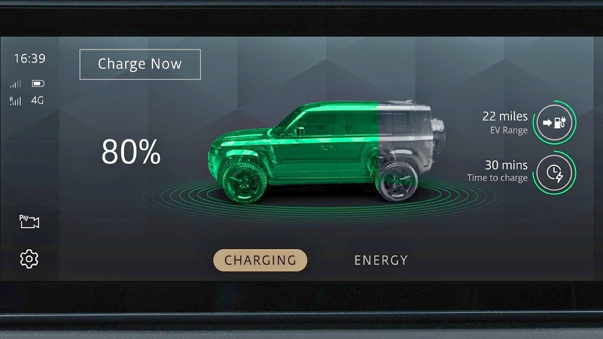 Land Drover Defender fuel cell electric vehicle FCEV 5