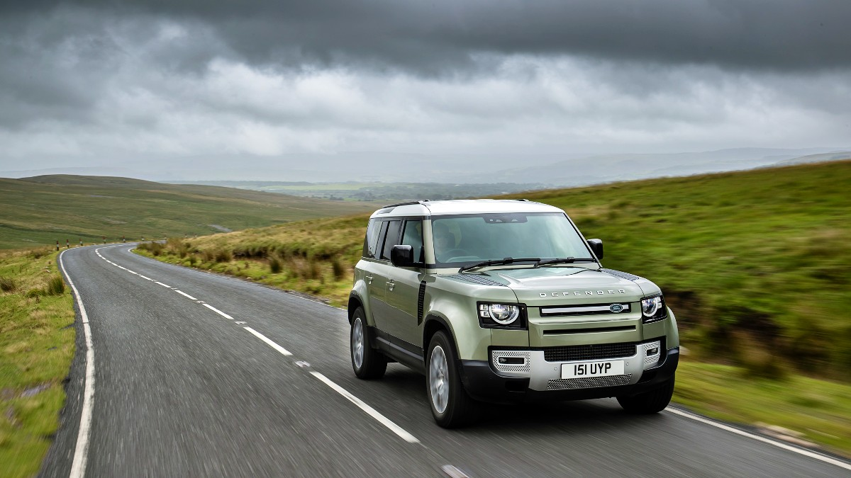 Land Drover Defender fuel cell electric vehicle FCEV 6