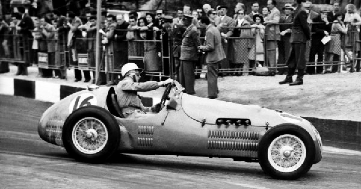 Stirling Moss in the HWM 2