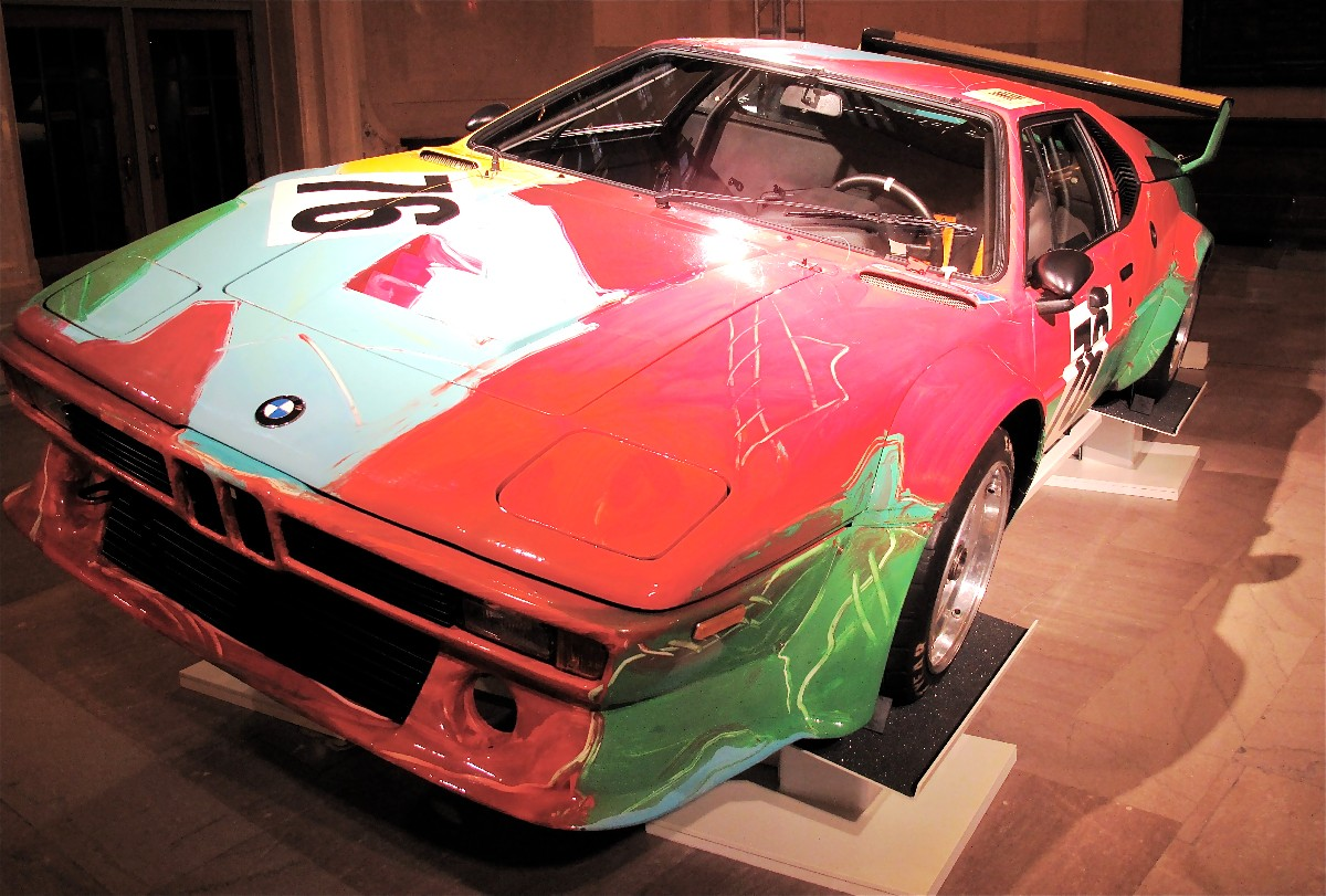 The finished art car
