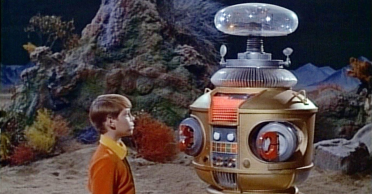 Will Robinson and the robot from Lost In Space