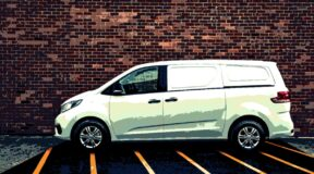 Pickup power for LDV's courier special