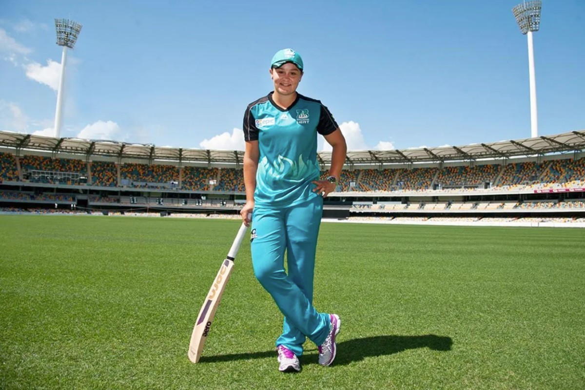 Ash Barty the cricketer