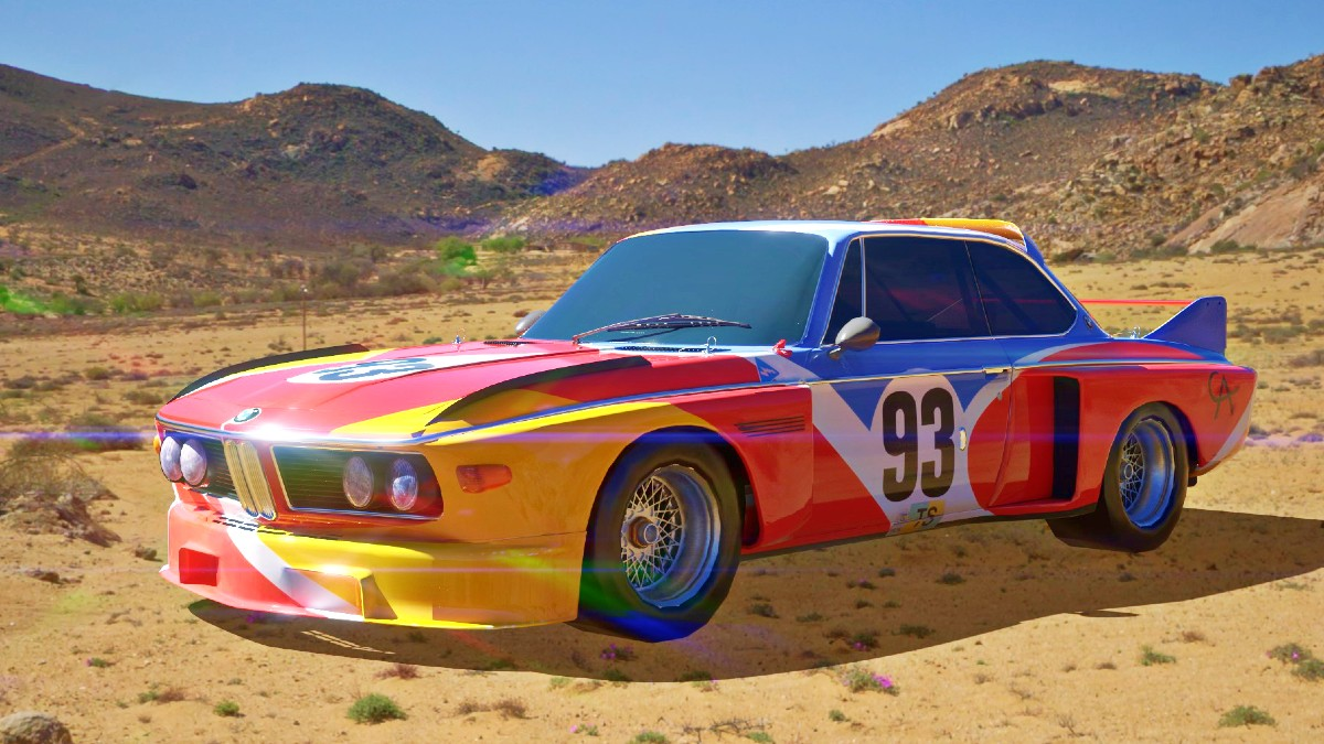 Check out BMW's Art Cars in all their digital glory