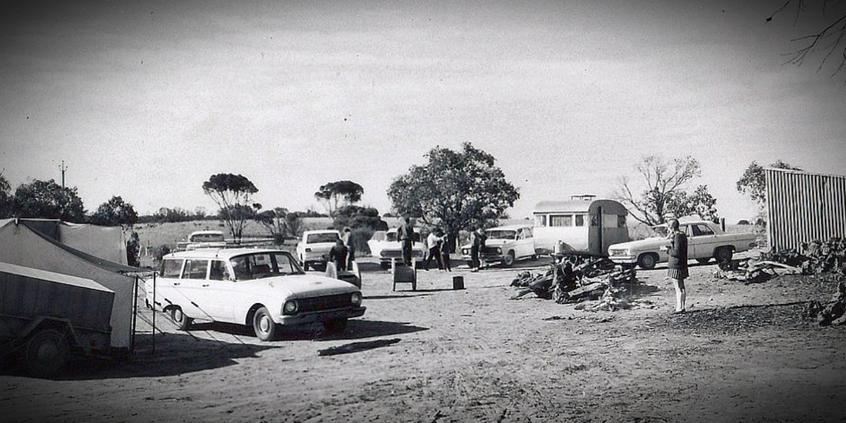 Camping in the 1960s