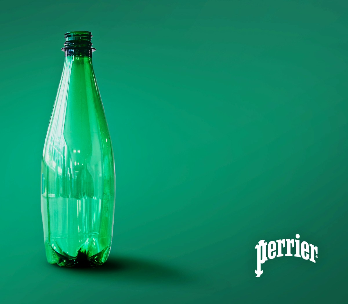 Latest technology recycled plastic bottle