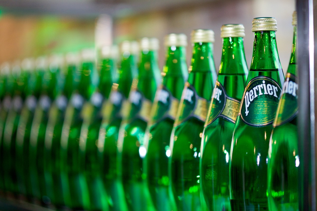 Perrier production line