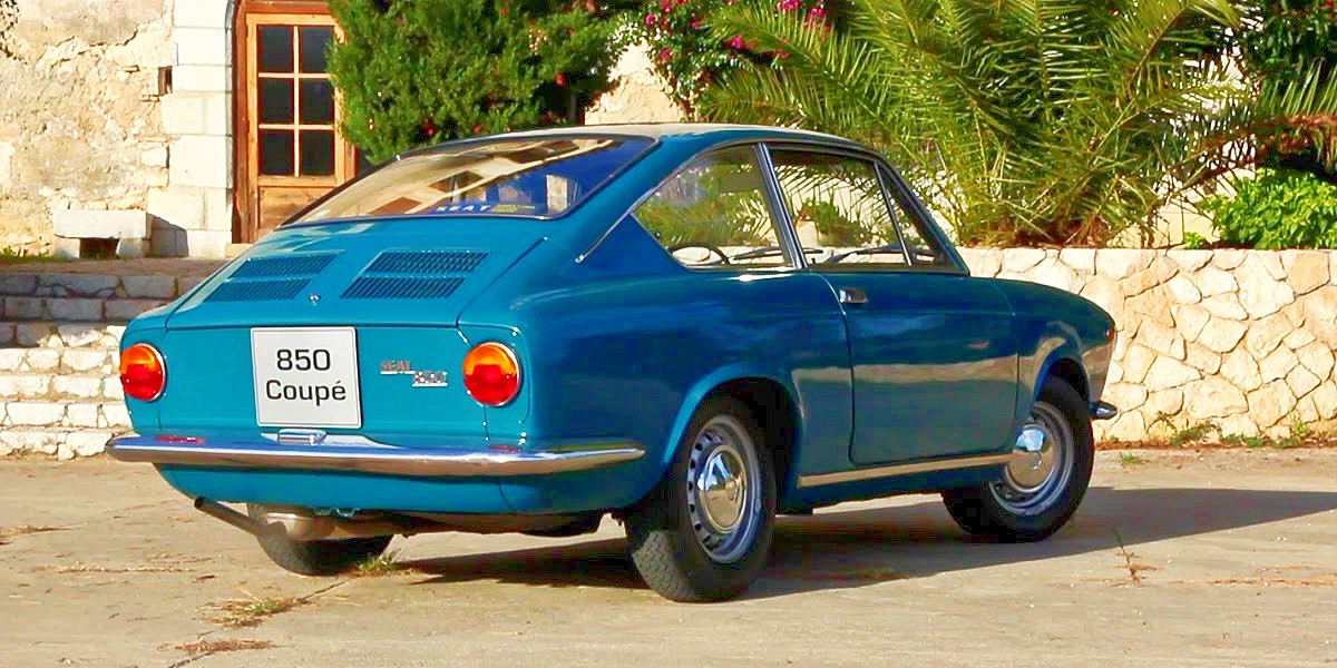 1969 SEAT 850 coupe and spider 1