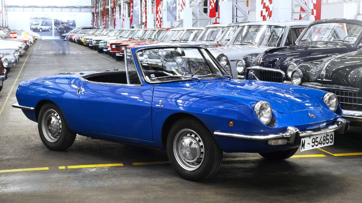 1969 SEAT 850 coupe and spider 2