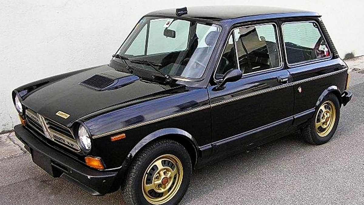 1979 A112 Abarth Gold Ring