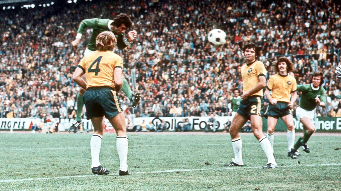 Australia made the World Cup for the first time