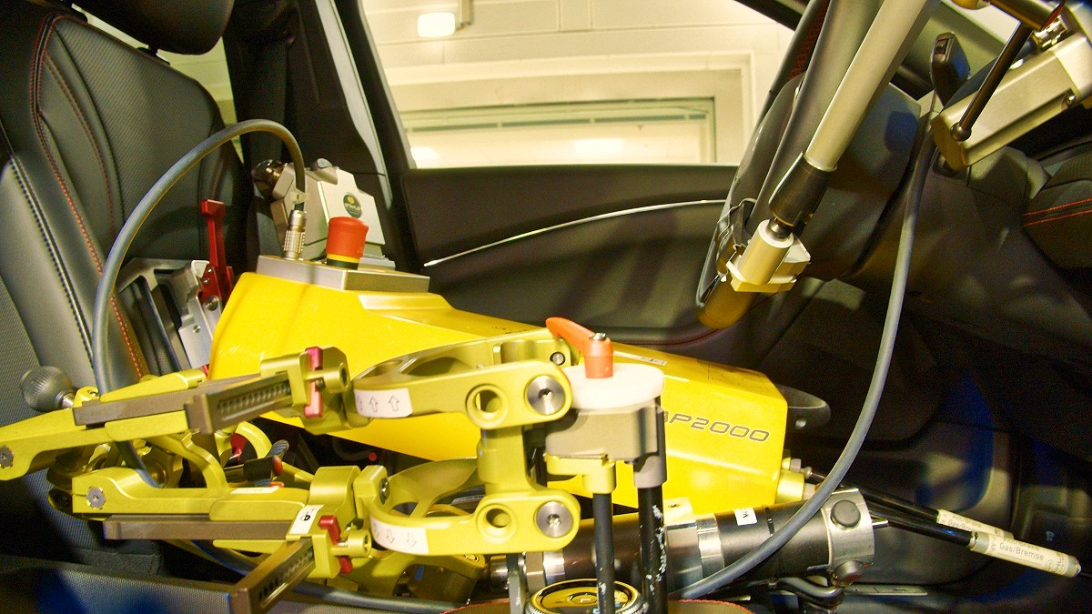 Ford ETC Driving Robot 1