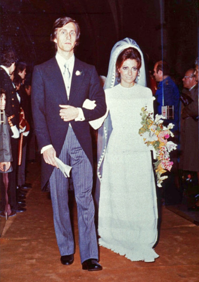 Married in 1972 and divorced in 1985