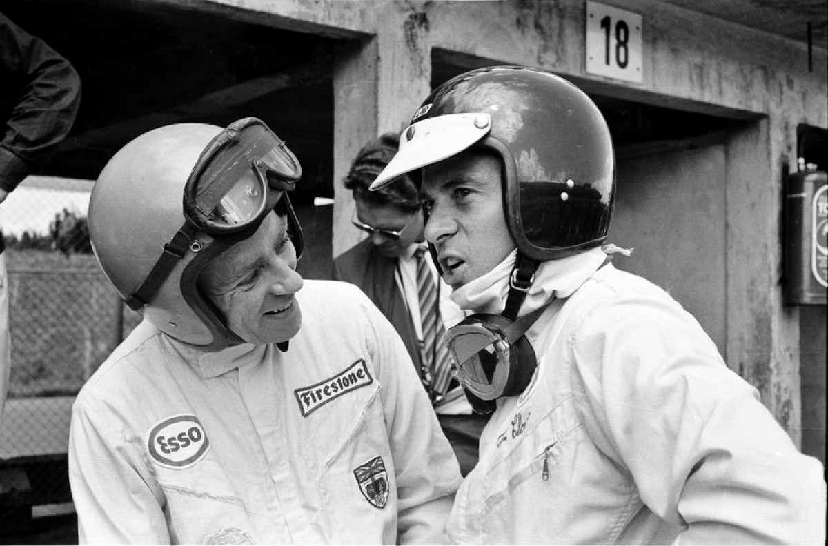Mike Spence and Jim Clark