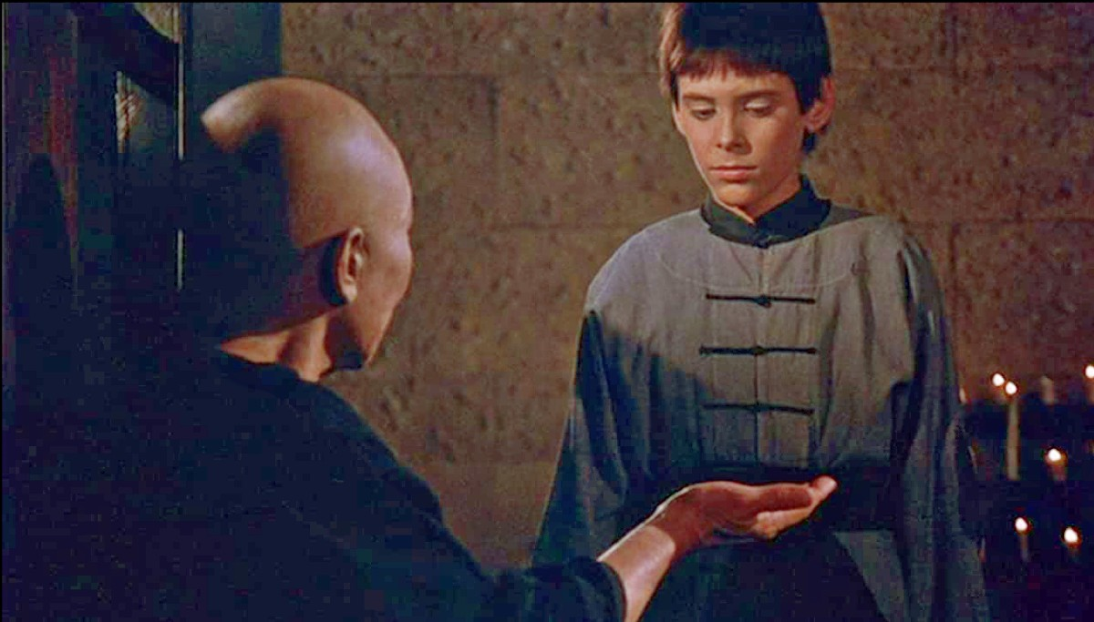 Philip Ahn and Radames Pera as young Caine