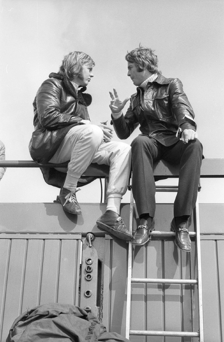 Ronnie Peterson and Max Mosley